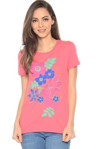 Limon Company Çiçekli Tişört Pembe